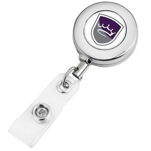Round Metal Badge Reel (Polydome)
